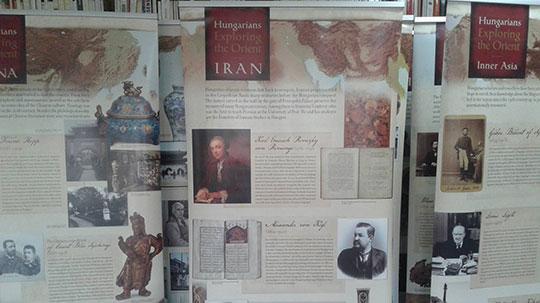 Ouverture de l'exposition « Explorateurs hongrois en orient»