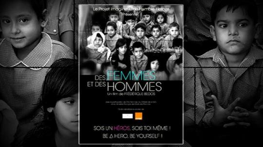 Projection du film de Frédérique Bedos « Des femmes et des hommes », lundi 9 décembre à 18h30, au cinéclub