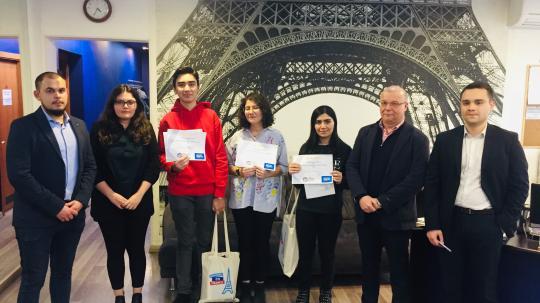 """Concours de français à l'IFA en partenariat avec les Centres Internationaux francophones des """" Lions Club de"""