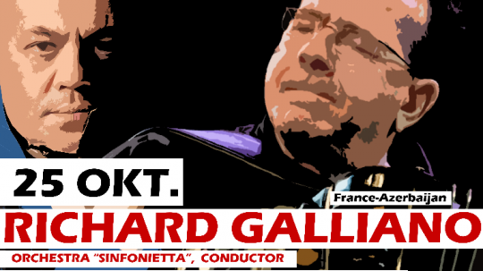 Festival de Jazz à Bakou : Richard GALLIANO