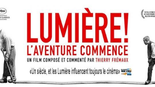 Festival du Film Européen : Projection du film Lumière ! Que l'aventure commence, de Thierry Frémaux