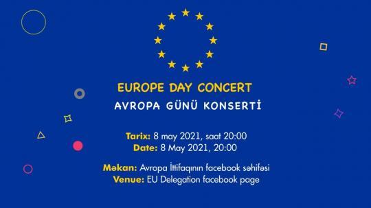 Concert du Jour de l'Europe en ligne. «  A bicyclette » / Avropa günü adlı onlayn konsert . « Velosiped »