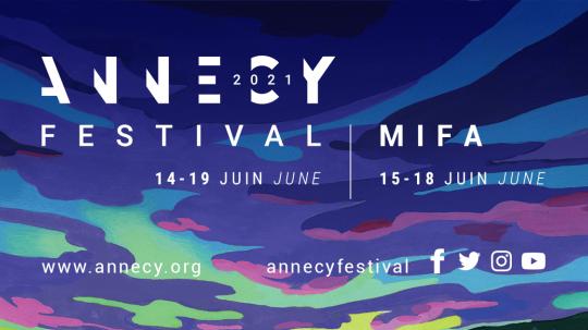 Séjour au Festival d'Annecy 2021 (Festival international du film d'animation) de la lauréate du Prix