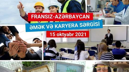 Salon de l'emploi franco-azerbaïdjanais. 15 octobre – UFAZ (Université franco-azerbaïdjanaise) – de 9h30 à